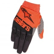 Alpinestars Racefend Orange Fluo Black Gloves