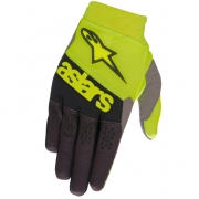 Alpinestars Racefend Yellow Fluo Black Gloves