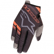 Alpinestars Radar Black Orange Fluo Gloves