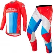 Alpinestars Kids Racer Venom Red White Blue Kit Combo