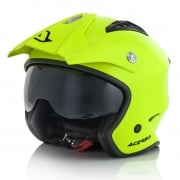 Acerbis Jet Aria Fluo Yellow Trials Helmet
