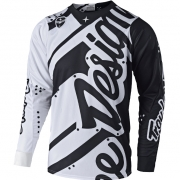 Troy Lee Designs SE Jersey - Shadow White Black
