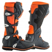 Acerbis X-Pro V Black Orange Motocross Boots