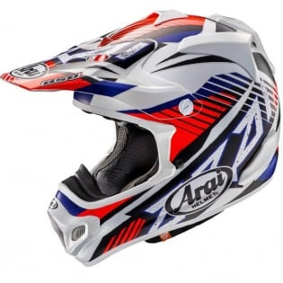Arai MXV Slashe Red Motocross Helmet