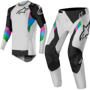 Alpinestars SuperTech LE Vision Cool Grey Black Kit Combo