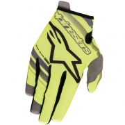 Alpinestars Kids Radar Flight Yellow Fluo Black Gloves