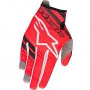 Alpinestars Kids Radar Flight Red Black Gloves