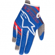 Alpinestars Kids Radar Flight Blue White Red Gloves