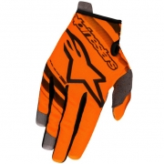 Alpinestars Kids Radar Flight Orange Flo Black Gloves