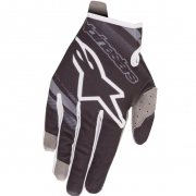 Alpinestars Kids Radar Flight Black Mid Grey Gloves