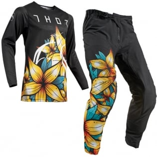 2019 THOR MX PRIME PRO FLORAL COMBO *FREE JERSEY CUSTOMIZATION*