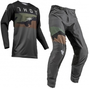 Thor Prime Pro Fighter Charcoal Camo Kit Combo