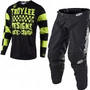 Troy Lee Designs Kids GP Raceshop 5000 Lime Kit Combo
