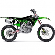 D Cor Team Monster Energy Kawasaki Full Graphics Kit