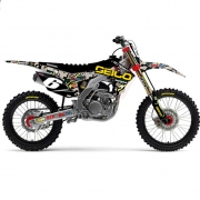 D Cor Team Geico Camo Honda Full Graphics Kit