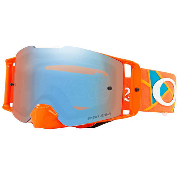 4a982b2d66 ... Oakley Front Line Troy Lee Sig Metric Red Org Prizm MX Goggles Image 4.  Enlarge Watch Video
