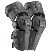 EVS RS9 Black Knee Braces