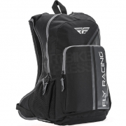 Fly Racing Jump Black Grey Backpack