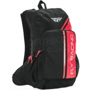 Fly Racing Jump Red Black Backpack