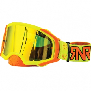 Rip n Roll Platinum Neon Yellow Goggles