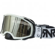 Rip n Roll Platinum White Goggles