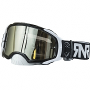 Rip n Roll Platinum Black Goggles