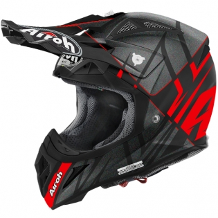 2018 Airoh Aviator 2.2 Helmet Styling Red Matt