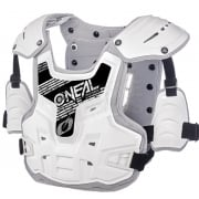 ONeal PXR Stone Shield White Grey Chest Protector