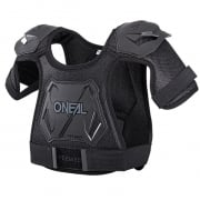 ONeal Pee Wee Kids Black Chest Guard