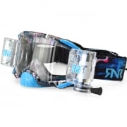 Rip n Roll Platinum WVS Blue Tattoo Roll Off Goggles
