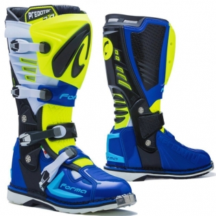 Forma Predator 2.0 Fluo Yellow White Blue Boots