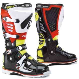 Forma Predator Black Fluo Yellow Red Boots