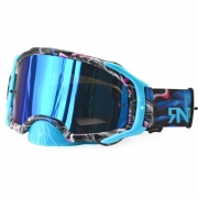 Rip n Roll Platinum Blue Tattoo Goggles