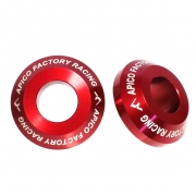 Apico Aluminium Pro Suzuki Red Rear Wheel Spacers