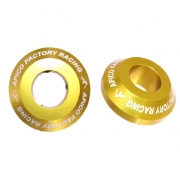 Apico Aluminium Pro Suzuki Gold Rear Wheel Spacers