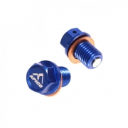 Apico Magnetic M12 Honda Blue CR Oil Drain Bolt