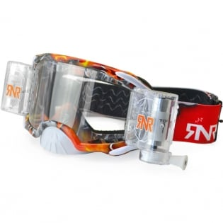 Rip n Roll Platinum WVS Red Tattoo Roll Off Goggles