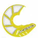 Acerbis X-Brake Front Vented Yellow Disc Protector - Cover Only