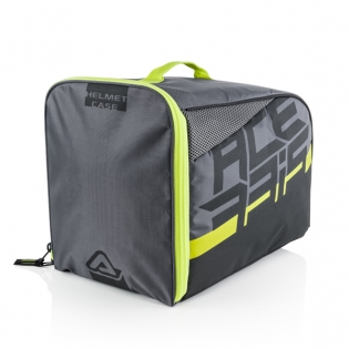 Acerbis Black Yellow Helmet Bag