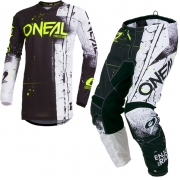 ONeal Element Shred Black Kit Combo