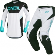 ONeal Element Racewear White Kit Combo