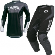 ONeal Element Racewear Black Kit Combo