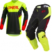 ONeal Element Racewear Neon Yellow Kit Combo