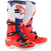 Alpinestars Tech 5 Red Fluo Blue White Boots