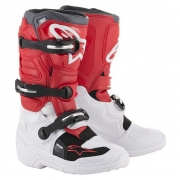 Alpinestars Kids Tech 7S White Red Grey Boots