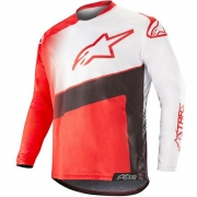 Alpinestars Racer Supermatic Jersey - Red Black White