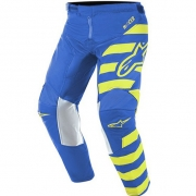 Alpinestars Kids Racer Braap Blue Yellow Fluo Pants