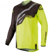 Alpinestars Kids Racer Factory Black Yellow Fluo Jersey