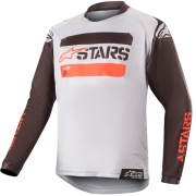 Alpinestars Kids Racer Tactical Black Grey Camo Red Jersey