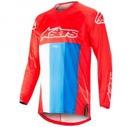 Alpinestars Kids Racer Venom Red White Blue Jersey